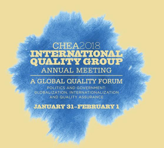 CHEA 2018 IQG annual event