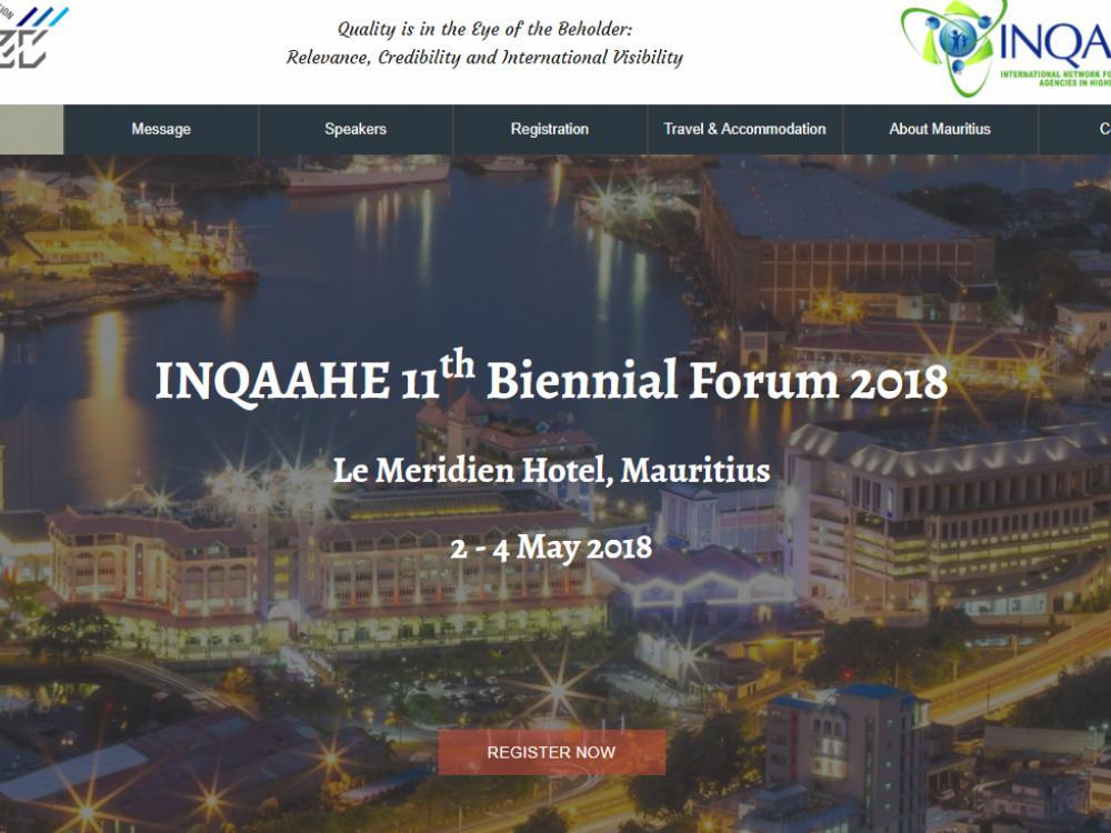 INQAAHE Forum 2018 TEC Mauritius