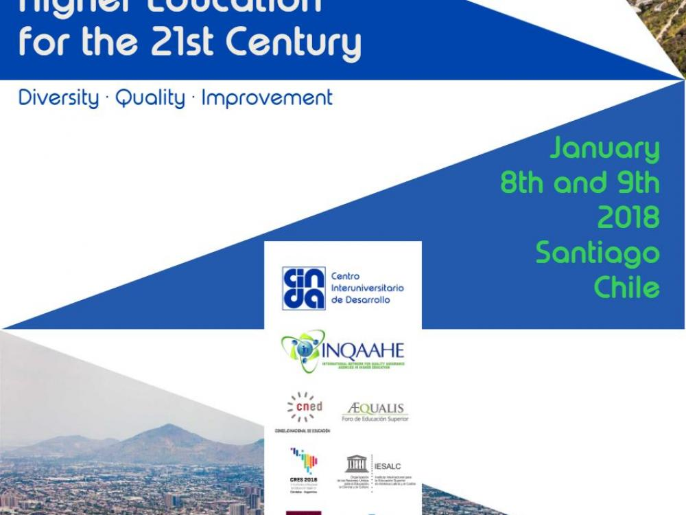 Higher Education for the 21st Century, Santiago, Chile 2018